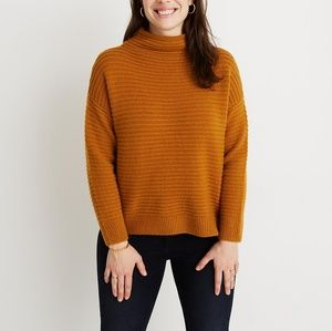 NWT Madewell Plus Belmont Mock Neck Sweater